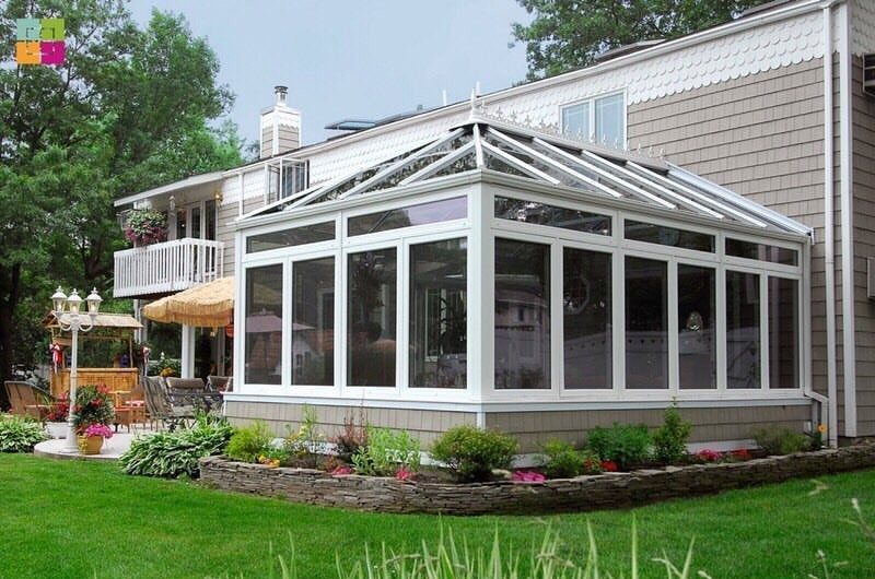 sunroom addition in Des Moines IA